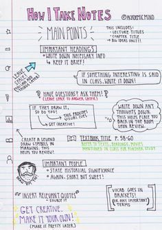 Even in the year 2016, when we have all of the technology in the world right at our fingertips, the old-fashioned practice of handwriting notes in class continues to be the best method of learning. Actually writing things down on paper – not typing them, not plugging them into your iPhone, not listening to a recording or watching a video – is still the most effective way to memorize and comprehend the material.