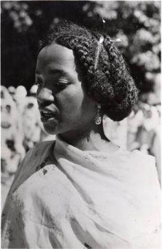 Tsimihety woman, in Madagascar
