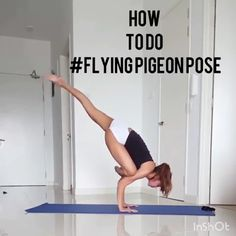 to do flying pigeon pose? I have not considered the idea before. Yoga benefits for women best abs workout routines for womens at home Adjustable Knee Brace - ⭐⭐⭐⭐⭐ Use of this unique knee compression brace Iyengar Yoga, Ashtanga Yoga, Yoga Bewegungen, Cardio Yoga, Sup Yoga, Yoga Headstand, Handstands, Pilates Yoga, Pilates Reformer