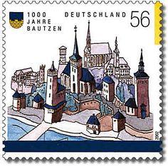 Stamp Germany 2002 MiNr2232 Bautzen.jpg