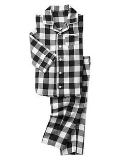 Classic printed PJ set | Gap - would be so cute for christmas...