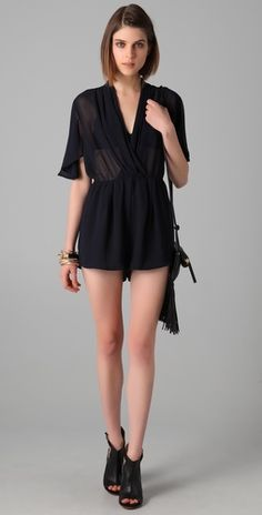 findersKEEPERS : lonely tonight romper