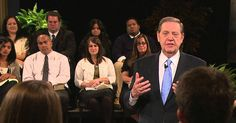 Elder Holland and Elder Bednar on Joy and Spirituality after Your Mission - Latter-day Saint Missionaries Missionary Homecoming, Missionary Mom, Sister Missionaries, Elder Holland Quotes, Sunday Activities, Lds Church, Church Ideas, Daughter Of God, Woman Standing