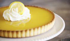 Citronový koláč bez přidaného cukru