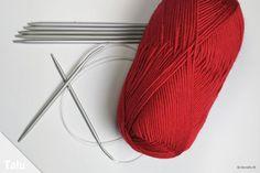Schalmütze stricken für Babys - kostenlose Anleitung für Anfänger - Talu.de Catherine Clark, Baby Born, Textiles, Knitting, Pattern, Blog, Hana, Inspiration, Tricot