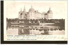 Germany, Konigl - Jagdschloss Moritzburg - passed post in 1904