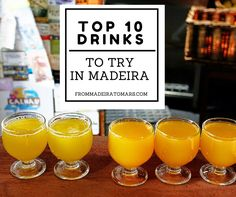 "Drinks in Madeira are mostly famous due to the world known Madeira Wine, but there are others... Names like ""Poncha"", an alcoholic typical beverage, ""Coral"" beer, ""Laranjada"" fizzy drink and even ""..."