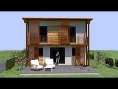 haus planen, hausplanung, haus bauen Style At Home, Cabin, House Styles, Home Decor, Patio, Garden Cottage, Build House, Room Interior, Balcony