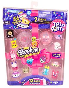 SHOPKINS JOIN THE PARTY 12 PACK *** Want additional info? Click on the image. Note:It is Affiliate Link to Amazon.