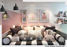 Adoramos cada detalhe deste ambiente idealizado por Ximenes Dantas para a quartos e etc. O rosa com cinza fica super moderno para quarto de menina.  Inspiração do nosso querido @decorechic. . Arquiteturade http://ift.tt/1U7uuvq arqdecoracao arqdecoracao @arquiteturadecoracao @acstudio.arquitetura  #arquiteturadecoracao #olioliteam #interiores #design #home #world #perfect #photooftheday #instago #decoracao #construcao #instadecor #architecture #instamood #arquiteta #love #decor #arquitetura…