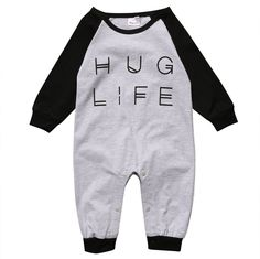 Unisex Baby Short Sleeve Organic Bodysuit Finland Flag Wolf Baby Rompers