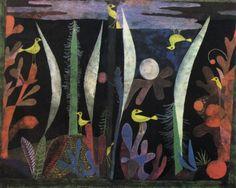 Paul Klee Swiss 1879 - 1940 Landscape with Yellow Birds