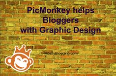 How to Easily Use a Free, Popular Photo Editing Site: PicMonkey #blogging #PhotoEditing #GraphicDesign