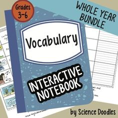 This bundle is also sold in the LIFE SCIENCE SET of 7 bundles found here at off! It is full of lots of doodles of animals, their New Vocabulary Words, Science Vocabulary, Teaching Science, Life Science, Science Standards, Science Fun, Science Resources, Science Lessons, Science Education