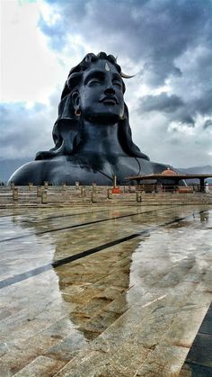 Shiva, The Adiyogi, India. Rudra Shiva, Mahakal Shiva, Shiva Art, Statues, Isha Yoga, Lord Shiva Hd Images, Temple India, Shiva Linga, Yoga Studio Design