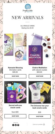 Divination Cards, Chakra Meditation, Oracle Cards, Natural Crystals, Namaste, Strength, Mindfulness, Consciousness, Electric Power