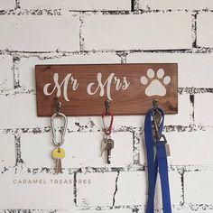 Hey, I found this really awesome Etsy listing at https://www.etsy.com/uk/listing/577915614/mr-mrs-dog-key-holder-key-holder-for