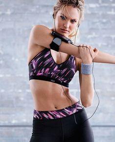 69feec56a6 Candice Swanepoel Fitness Photoshoot, Ange Victoria Secret, Victoria Secret  Sport, Vs Sport,