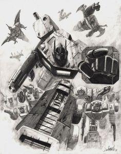 Transformers by Livio Ramondelli *