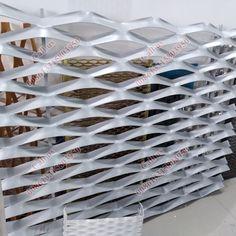 innovative building facade alum expanded metal mesh