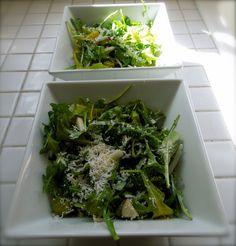Arugula Salad with Apples and Parmesan