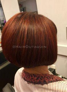 Red Bob ❤️  #bob #redhead #redhair #haircut #perth #northperth #hairdresser #hairsalon