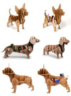cardboard crafts sculpture Your Stuff with These Cute Cardboard Dog Shelves Store Your Stuff with These Cute Cardboard Dog Shelves Your Stuff with These Cute Cardboard Dog Shelves Store Your Stuff with These Cute Cardboard Dog Shelves Your Cardboard Sculpture, Cardboard Furniture, Cardboard Crafts, Wood Crafts, Diy And Crafts, Paper Crafts, Kids Furniture, Cnc Projects, Woodworking Projects