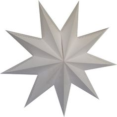 9 Point White Laminate Star Lantern by Asian Import Store, Inc.. $9.95