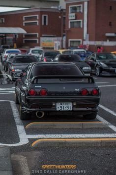 "camber: ""Nissan Skyline R32 GTR @ SpeedHunters. """
