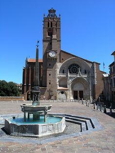 Cathédrale Saint-Étienne de Toulouse, France.