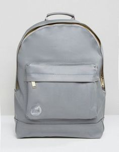 2f6595f8e174 Mi-Pac Rubberised Backpack in Grey at asos.com