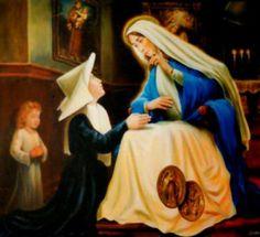 Virgen de la Medalla Milagrosa / 18 de Julio / Año: 1830 / Lugar: Rue-du-Bac, París, Francia / Apariciones de la Virgen a Santa Catalina Labouré (1806-1876).