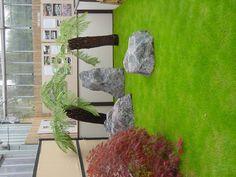 Japanese Garden Display at Coolings - The Japanese Garden Centre Garden Centre, Water Features In The Garden, Garden Ornaments, Pathways, Garden Ideas, Gardening, Japanese, Display, Plants