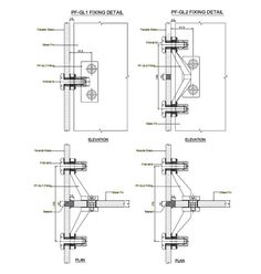 space frame curtain wall connection - Google Search