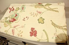 Vintage Pottery Barn Bed and Bath Palampore Full/Queen Duvet Fabric Floral #PotteryBarn