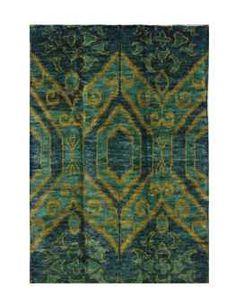 A DORIS LESLIE BLAU IKAT-INSPIRED CARPET - Christie's