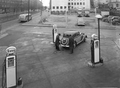Gas Pumps, Gas Station, Helsinki, Branding Design, Nostalgia, Car, Historia, Finland, Automobile