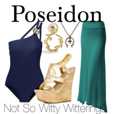 Poseidon outfit. Percy Jackson series