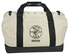Klein Tools - 20 in. Canvas Tool Bag 81a9046606544