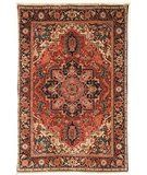 RugStudio presents Safavieh Old World OW126A Red / Navy Hand-Knotted, Good Quality Area Rug