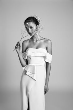 The Artistic, Fashion Forward Livné White Wedding Dress Collections | CHERRY copy