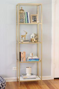 Ikea Vittsjo shelving | Shelf Styling