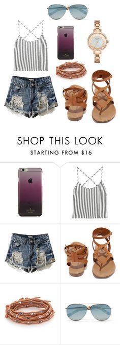 """""""Untitled #12"""" by nmarieo-1 ❤ liked on Polyvore featuring Kate Spade, Kain, Breckelle's, Chan Luu and Tom Ford"""