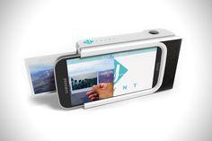 Камера Prynt печатает фото со смартфона, как Polaroid - http://things.lifehacker.ru/2014/11/19/kamera-prynt-pechataet-foto-so-smartfona-kak-polaroid/