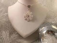 A personal favorite from my Etsy shop https://www.etsy.com/listing/250543757/snowflake-pedant-necklace-on-chain