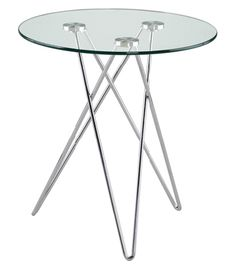 Edgeware Accent Table CLEAR     $148.00             @Apt2B.com