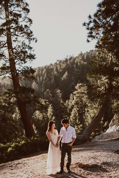 Angeles Crest Highway Mountain Engagement Session in Los Angeles Mountain Engagement Photos, Mountain Photos, Wedding Engagement, Engagement Session, Wedding Ring, New Chapter, Marriage, Adventure, Couple Photos