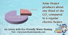 Go green with #EcoFriendly water heating.  #SaveEnergy