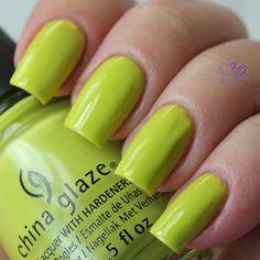 China Glaze Trip of a Lime Time