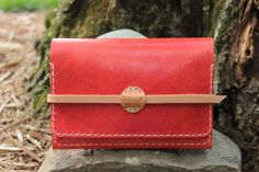 Leather Women's Ladies Cell Phone Wallet // Hand by VanHookandCo, $65.00